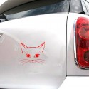 1pc Cute Cat Stickers Car Decoration Sticker Decals Car Styling